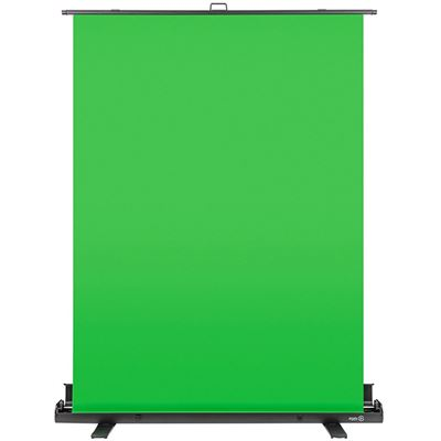 Elgato Green Screen - Foldable, Wrinkle Resistant - 1480 mm Width - Chromakey Green