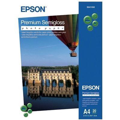 Epson S041332 Premiumium SEMIGLOSS PHOTO PAPER A4