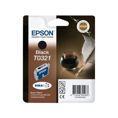 Epson Black Ink Cartridge for Stylus C70 & C80
