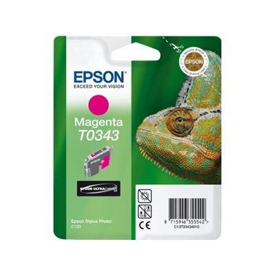 Epson T0343 Magenta Ink Cartridge - Stylus Photo 2100