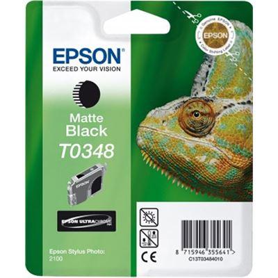Epson T0348 Matte Black Ink Cartridge - Stylus Photo 2100