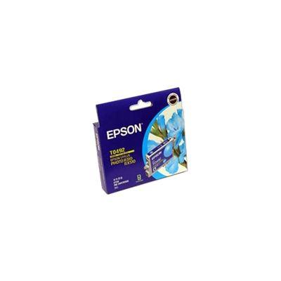 Epson T0492 Cyan Ink Cartridge For Stylus Photo R210, R230, R310, R350, RX510, RX630