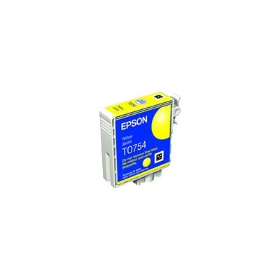Epson T0754 Yellow Cartridge For Stylus C59