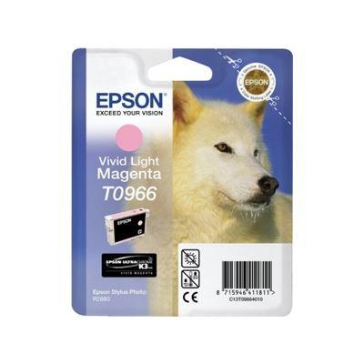 Epson T0966 Light Vivid Magenta Ink Cartridge - For Stylus Photo R2880