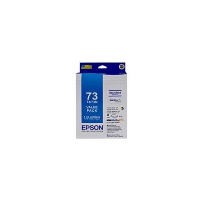 """Epson T1051/T1052/T1053/T1054 Ink Bundle + Paperpaper Consists Of 4"""" X 6"""" Glossy"""