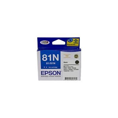 Epson 81N Black Ink Cartridge For Stylus Photo 1410, R290, R390, T50, RX590, RX610