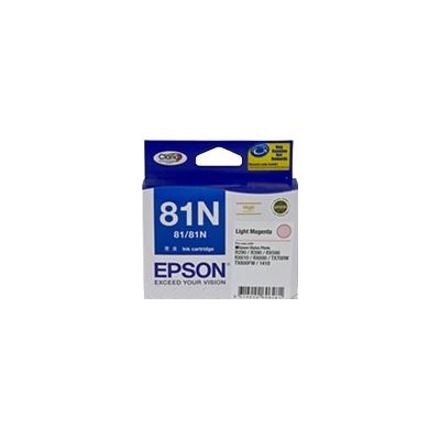 Epson 81N Light Magenta Ink Cartridge For Stylus Photo 1410, R290, R390, T50, RX590