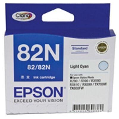 Epson Standard Capacity Light Cyan Ink Cartridge For Stylus Photo R290, R390, T50