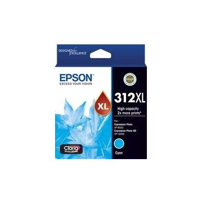 Epson 312 HY Cyan Ink Cart