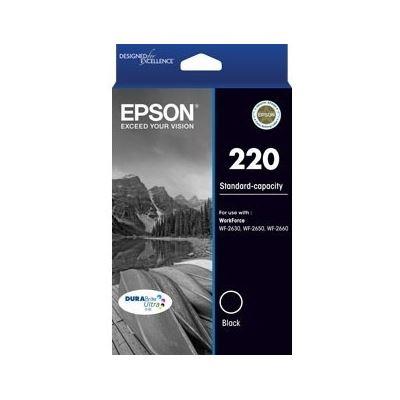 Epson 220 (C13T293192) Standard capacity black ink cartridge