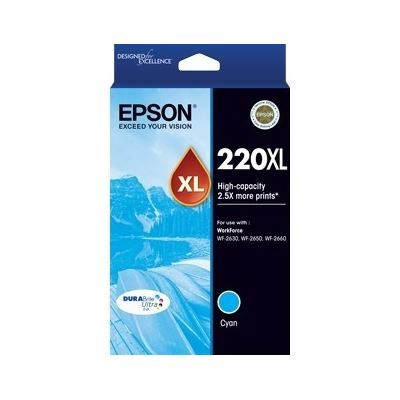 Epson 220XL Ink Cartridge Cyan