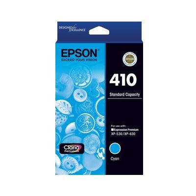 Epson 410 STD CAPACITY CLARIA PREMIUM - CYAN INK CARTRIDGE (XP-530 XP-630)