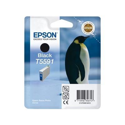 Epson T5591 Black Ink Cartridge - Stylus Photo RX700