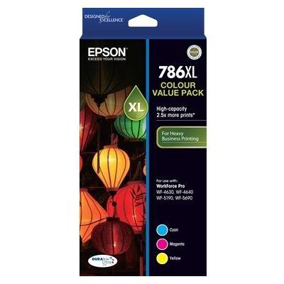 Epson High Capacity DURABrite Ultra 3 ink Value Pack