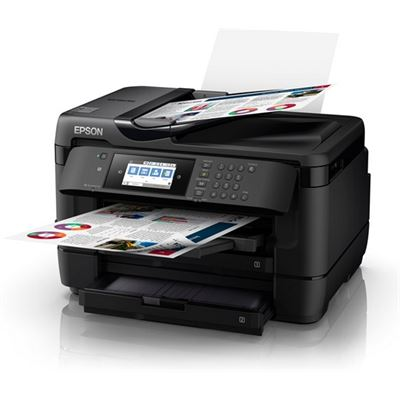 Epson WorkForce 7725 A3+ Inkjet Multifunction with PrecisionCore - Print, Copy, Scan