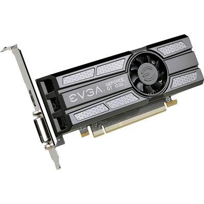 EVGA GeForce GT1030 2GB GDDR5 PCI-E 3.0 Video card , DVI+HDMI , Low Profile Support