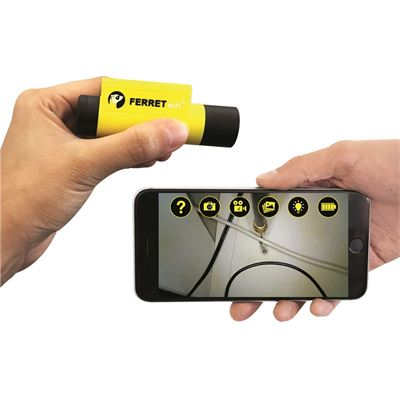 Ferret Wifi Multipurpose Wireless Inspection Camera & Cable (CFWF50A)