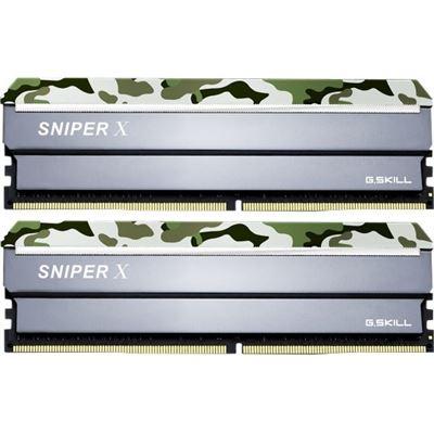 G.Skill Sniper X F4-3200C16D-16GSXFB 16GB (2 x 8GB) DDR4 3200Mhz CL16 1.35v Desktop