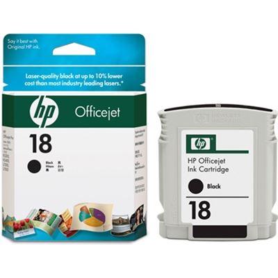 HP 18 Black Officejet Ink Cartridge