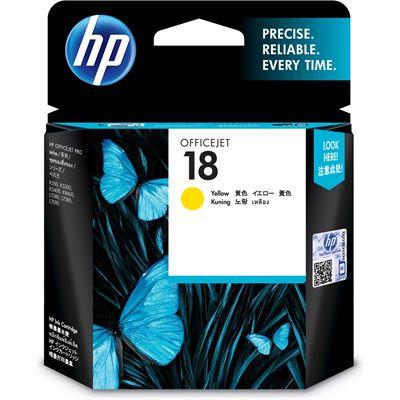 HP 18 Yellow Officejet Ink Cartridge