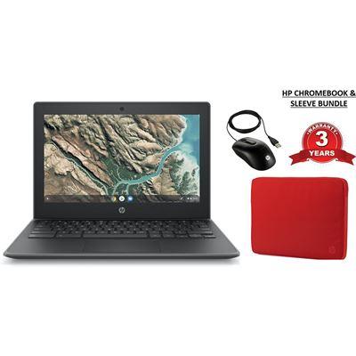 "HP EDUCATION BUNDLE - 11"" Chromebook (4 GB, 32GB Flash Memory) with 3 year upgrade"