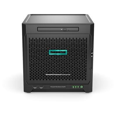 HPE ProLiant MicroServer Gen10 X3216 8GB-U 1TB 4LFF NHP SATA 200W PS Entry Server