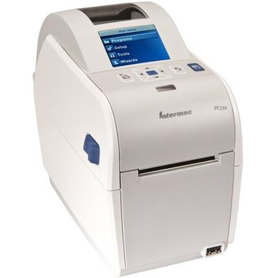 "Intermec PC23 Healthcare 2"" Printer with LCD Latin Font ADJ GAP &Real Time Clock 203DPI"