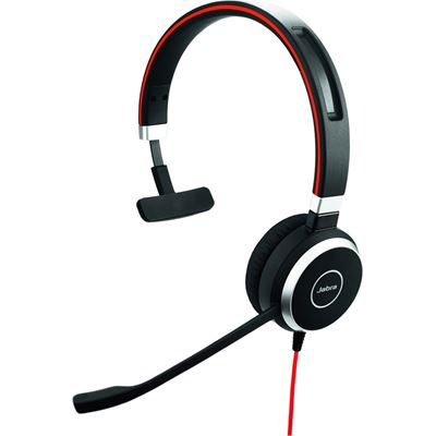 Jabra Evolve 40 UC Mono Over-the-head Supra-aural Noise Cancelling Headset