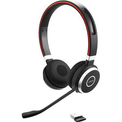 Jabra Evolve 65 MS Stereo - Wireless - Bluetooth - Over-the-head - Supra-aural