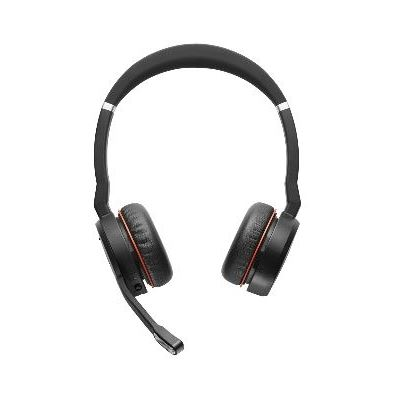 Jabra Evolve 75 Link 370 MS Stereo Over-the-head Supra-aural Noise Cancelling Headset