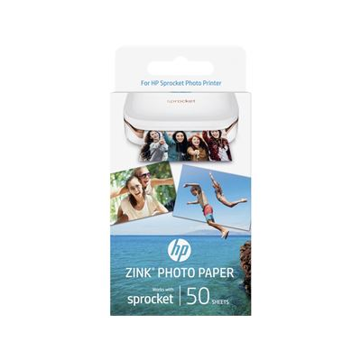 HP Sprocket Photo Paper 2x3-inch (50 sheets)