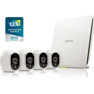 Netgear VMS3430 ARLO SMART HOME SECURITY - 4 HD CAMERA SECURITY SYSTEM