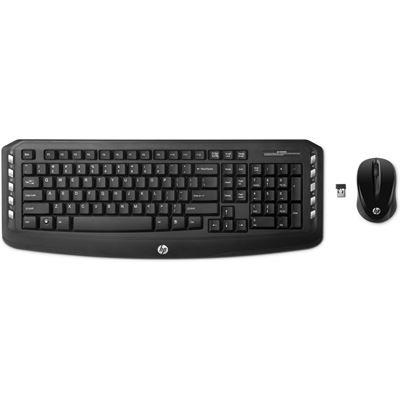 HP Wireless Classic Desktop KeyBoard& Mouse Bundle