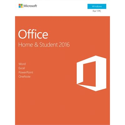 Microsoft Office Home and Student 2016 Windows English Medialess P2