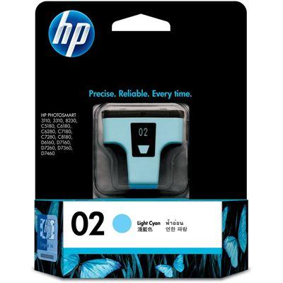HP 02 Light Cyan Ink Cartridge