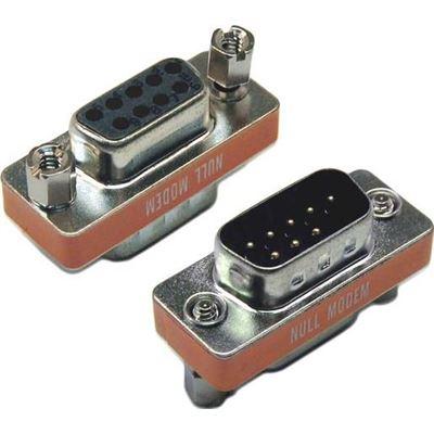 Dynamix DB9 Null Modem Adaptor (DB9 Male/ Female Connectors)