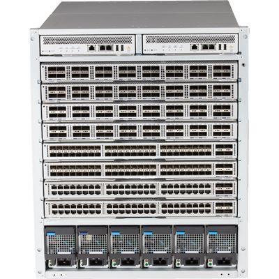 HPE Arista 7308X 4x PSU 4x Fabric Supervisor Back-to-Front DC Bundle