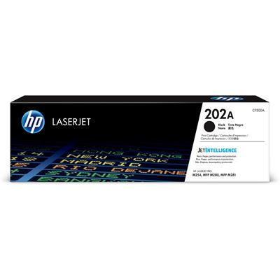 HP 202A Original Black LaserJet Toner Cartridge