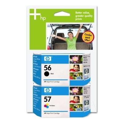 HP 56/57 Combo Pack Ink Cartridge