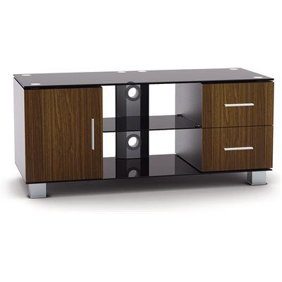Brateck Bretack Elegant Aluminum Wood and Glass TV Stand For LED; LCD; Plasma flat