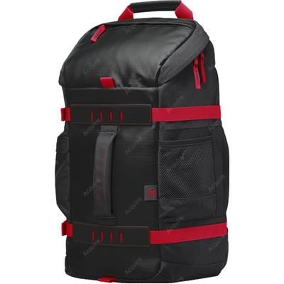 HP 15.6 Odyssey Black/Red Backpack