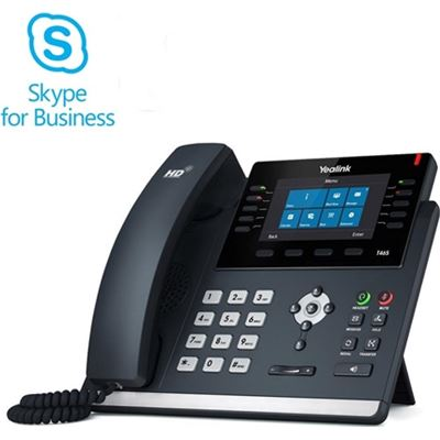 Yealink T46S SKYPE FOR BUSINESS EDITION - CUSTOM SKYPE FOR BUSINESS INTERFACE
