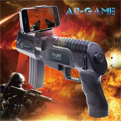 8 Ware 8Ware GEN-ARG-Z3 AR Smart Gun For Playing 3D VR Games FOR Android and IOS Phone