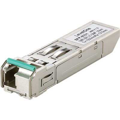 Level One Gigabit Ethernet (1.25G) Single- mode Bi-directional SFP Transceiver (20km