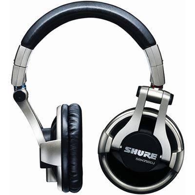 Shure The Shure SRH750DJ headphone Pro DJ (clearance limited stock)