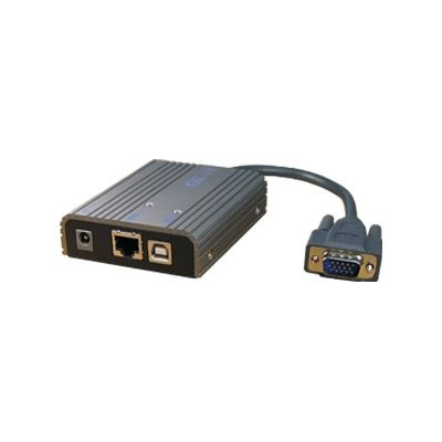 Rextron VGA Extender over 100Mbps LAN. Support Full HD 1920x1080 res Connect up to four
