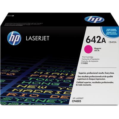 HP 642A Magenta LaserJet Toner Cartridge