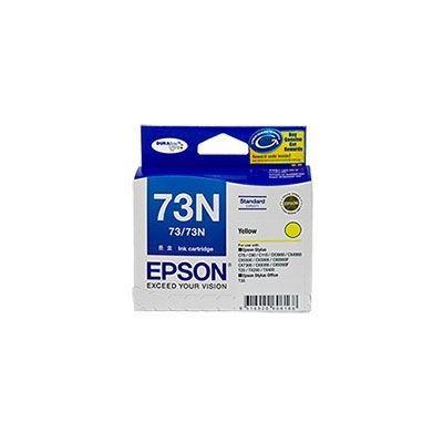 Epson 73/73N Yellow Ink Cartridge For Stylus C79, C90, C110, T20, T21, CX3900, CX4900