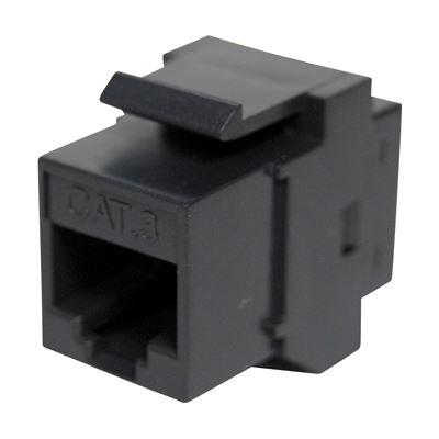 Dynamix Cat 3 Rated RJ-45 8C Joiner 2 Way (2x RJ-45 Sockets)