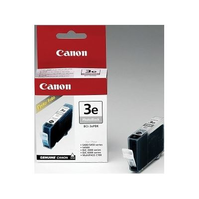 Canon BCI3EPBK Black Ink Tank For BJC6000BJC6200 BJC6500 S450 S4500SP Bubble-Jet